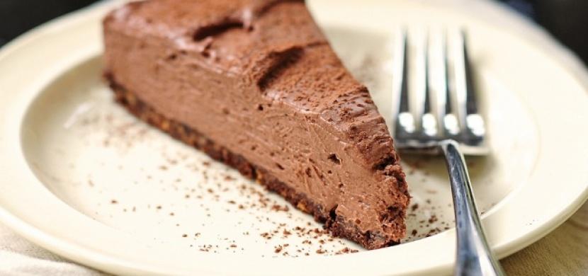 Nepečený čokoládový dort!