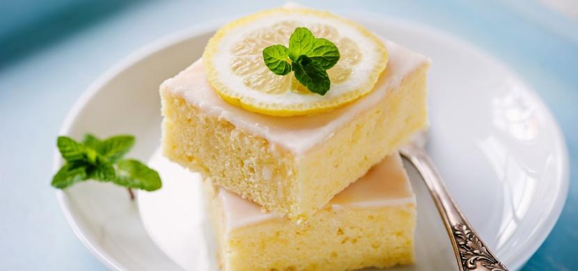 Citrónový koláč, který je za půl hodiny hotový